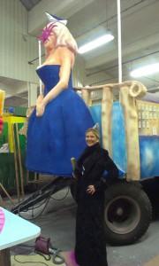 Foto Venetia in der Wagenbauhalle