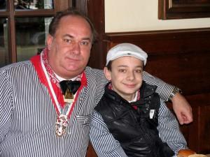 Robert Nolte mit Sohn Nick