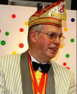 Heinz Krudwig, seit 1992 an der Spitze der Spiesratze.