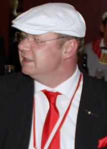 CC-Geschäftsführer Christoph Joußen, ebenfalls Diplom-Handlanger der Spiesratze.