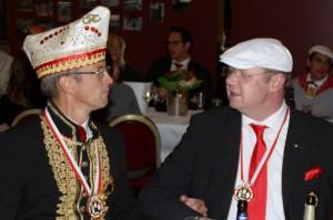 CC-Präsident Josef Hinkel (links) und CC-Geschäftsführer Christoph Joußen
