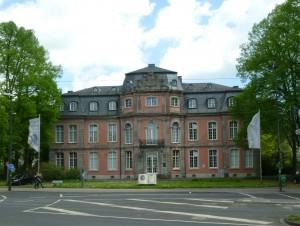 Das Goethe-Museum ist im Schloss Jägerhof beheimatet.