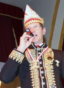 Seine Sangeskünste hatte Josef Hinkel (links) schon einmal auf einer Spiesratze-Sitzung unter Beweis gestellt.