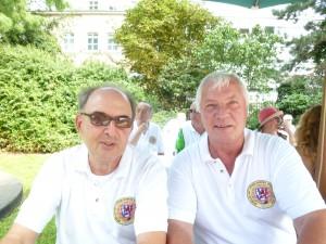 Oberbaurat Bernhard Lück und Wolf-Detlev Göris (v.l.)