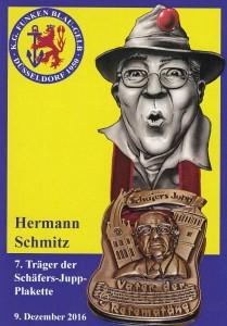 Hermann Schmitz, Autogrammkarte