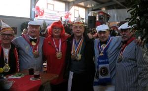 Besuch beim Wagenbaurichtfest der Büdericher Heinzelmännchen