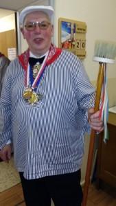 Zeremonienmeister H. Krudwig