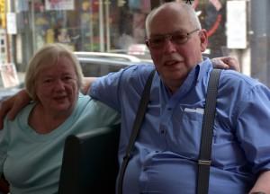 Straßenbahnfahrt 75 Jahre Heinz Krudwig