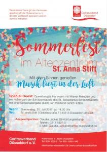 Handzettel Sommerfest