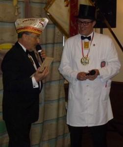 CC-Präsident und Oberpolier