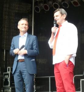 OB Geisel und Kalle Wahle