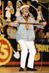 Paul Backert Zeremonienmeister 9.2.1986